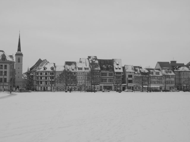 Erfurt im Schnee