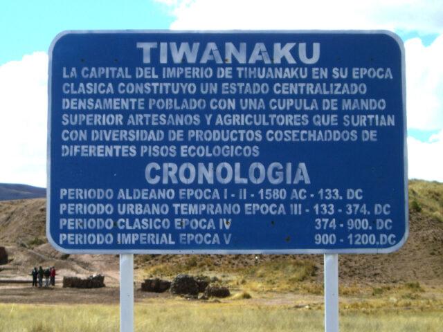 Tiahuanaco Bolivien