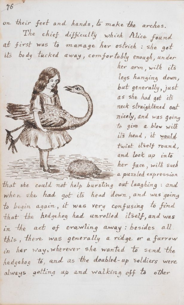 Lewis Carroll: Alice's Adventures Under Ground
