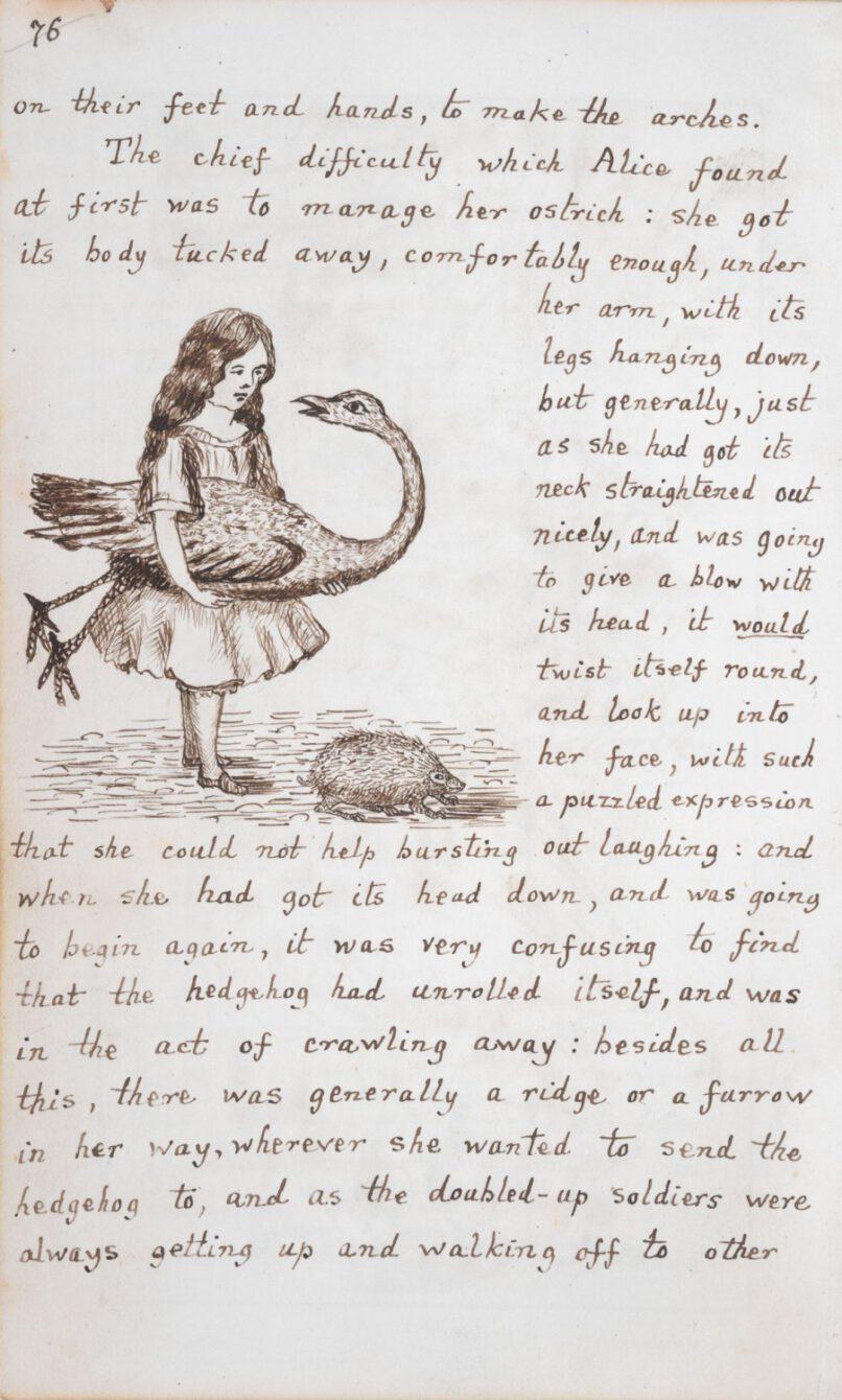 Lewis Carroll: Alice's Adventures Under Ground
