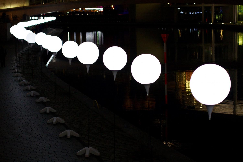 """""""Lichtergrenze"""", Berlin (2014)"""